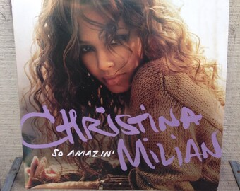 Christina Milian - So Amazing Featuring Young Yeezy Hip Hop R&B Vinyl Record Album LP, Early 2000s Vinyl Record, Hip Hop RnB Vinyl Record