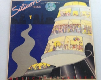 Silicon Teens - Music for Parties, Record Albums, LP Records, Vinyl Records Sale, Vinyl Record, Vinyl Albums, New Wave, 80s