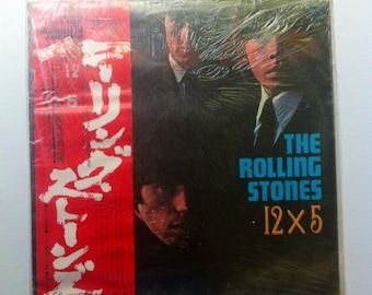 RARE SEALED IMPORT The Rolling Stones-12x5, Vinyl Record, Records, Vinyl Records Sale, Record Albums, Vinyl Lp, Lp Records