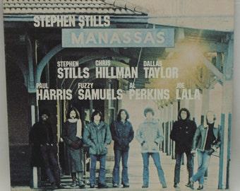 Manassas - Stephen Stills Vintage Vinyl Record, Rock Vinyl, Rock Record, Rock Album, Double Vinyl, Double Record, 70s Records, 70s Vinyl