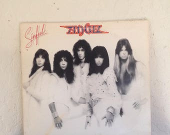 Angel - Sinful 70s Vintage Vinyl Record Album LP, Rock Vinyl, Rock Record, Vinyl Records Sale, Rock Album, 70s Glam Rock Vinyl, 70s Rock LP