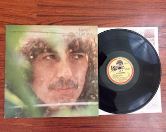 "George Harrison - Self Titled Vintage 12"" Vinyl Record Album LP 33 RPM, Pop Rock Vinyl Record, George Harrison Vinyl Record, Beatles Record"