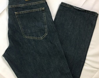 "90s Vintage Nautica Baggy Fit Medium Wash Denim Jeans 32"" x 32"", Oversized Jeans, Baggy Jeans, Baggy Denim Pants, 90s Baggy Nautica Jeans 32"