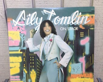 Lilly Tomlin - On Stage Vintage Vinyl Record Album LP, Comedy Record Album, Comedy Vinyl Record, Comedy Vinyl Records, Comedy Vintage Record