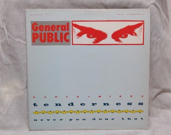 General Public - Tenderness Vinyl Record Album LPs, Sixteen Candles, Single, Vinyl Record, Vinyl Records Sale, 80s New Wave Music, 80s Movie
