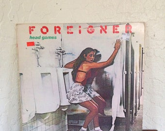 Foreigner - Head Games, Vintage Vinyl Records, Vintage Vinyl, Vintage Vinyl Albums, Rock Vinyls, Rock Records, Foreigner Vinyl, 70s Records