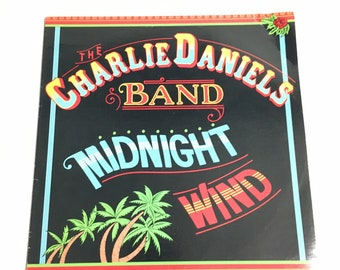 Charlie Daniels band Midnight Wind reflections vinyl album