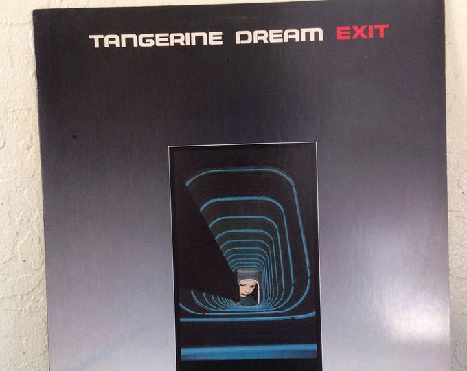 Featured listing image: Tangerine Dream - Exit Vinyl Record, Records, Vinyl Records Sale, Record Albums, Vinyl Lp, Lp Records, Electronic Music, EDM
