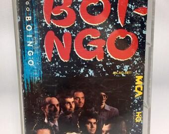 Oingo Boingo - Boi-Ngo Cassette Tape, Oingo Boingo Cassette, Oingo Boingo Tape, 80's music, New Wave Cassette Tape, Danny Elfman Tape