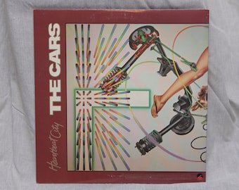 The Cars - Heartbeat City Vinyl Record Album LPs, 80s New Wave Music, Synth Pop Vinyl Record, Vintage vinyl record, Vinyl Records Sale, 80s