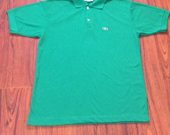 Vintage Chemise Lacoste Polo Shirt Large, Green Lacoste Polo, Vintage Streetwear, Mens Streetwear, Hip Hop Clothing, Vintage Lacoste Polo