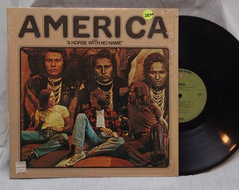 FREE Shipping, America - A Horse With No Name Vinyl Record Albums LP, Folk Rock, Vintage Vinyl Record, Vinyl Records Sale, Vinyl Albums, LP