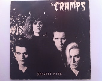 The Cramps - Gravest Hits Punk Rock Vinyl Record Album Lps, Rockabilly, Psychobilly, Punk Vinyl, Punk Record, Vintage Vinyl Records Sale,80s