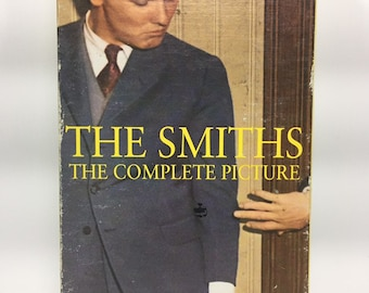 The Smiths The Complete Picture VHS Cassette Tape, The Smiths Video Album, Morrissey Video Album Film, 90s Vintage Music Video Album Movie