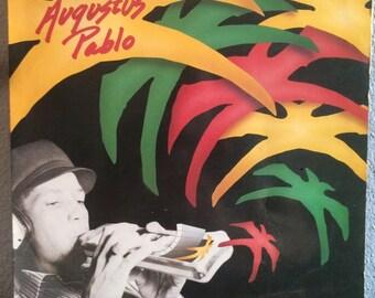 Rebel Rock Reggae - This is Augustus Pablo, Heartbeat Records HB-34, Reggae Vinyl, Reggae Record, Dub Vinyl, Dub Record, Roots Reggae Record