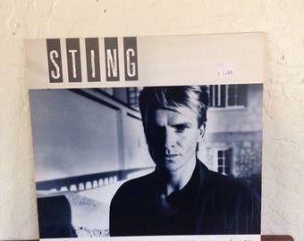 """Sting - The Dream of the Blue Turtles 12"""" Vintage Vinyl Album LP 33 RPM, Sting Vinyl Record, Rock Album LP, 80s Vinyl Record, Rock Record"""