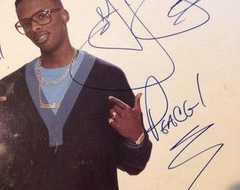 DJ Jazzy Jeff & Fresh Prince (Will Smith) - He's The DJ Im the Rapper, Autographed Vintage hip hop vinyl record album LP, 90s Hip Hop Vinyl