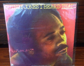 Quincy Jones - I Heard That, Vinyl Record, R and B, R n B, Rhythm and Blues, Vinyl Records, Records, Record Collector, Vinyl Record Retro
