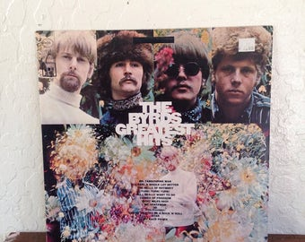 The Byrds - Greatest Hits, Vintage Vinyl Records, Vintage Vinyl, Vintage Records, Rock Records, Rock Albums, Rock Vinyl, 70s Records, 33 RPM