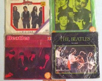 """The Beatles Vinyl Record Lot 45 RPM, 45 Records, 7"""" Vinyl, 7"""" Records, Vinyl Record, Vinyl Records Sale, The Beatles, Beatles, Record Lot"""