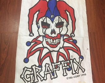 Graffix bong dealers banner sign poster rare 1990