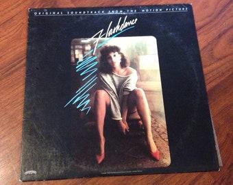 Flashdance Movie Soundtrack Vinyl Record Albums LP, 80's vinyl, new wave, Vinyl Record, Vinyl Records Sale