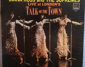 Live at Londons Talk of the Town - Diana Ross and The Supremes, Vinyl Records Sale, Vinyl Record, Records, Diana Ross, Mowtown, Motown Vinyl