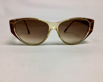 90s Vintage Tortoiseshell Cat Eye Sunglasses, 90s Sunglasses, Brown Sunglasses, Cateye Sunglasses, Tortoiseshell Sunglasses, Luxottica