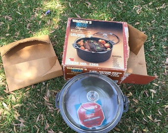 New in box wagner 1268 from the 70's 80's Dutch oven