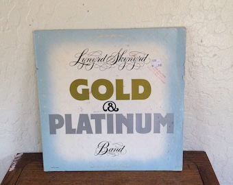 Lynyrd Skynard - Gold & Platinum, Cintage Vinyl Records, Vintage Vinyl, Vintage Records, Rock Albums, Rock Records, Rock Vinyl, 70s Records
