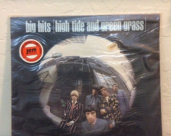 The Rolling Stones - Big Hits High Tide and Green Grass Sealed Vintage Vinyl Record LP, 12 inch Vinyl Record, 33 RPM Album LP, Import Vinyl