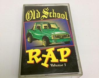Thump Records - Old School Rap Vol 1, Vintage Cassette Tape, Hip Hop Cassette Tape, Rap Cassette, Rap Cassette Tape, 90's Hip Hop, 90s Rap