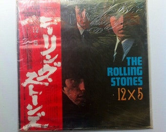 RARE SEALED Import The Rolling Stones - 12x5 Vintage Vinyl Record Album LP, Stones Record, Vinyl Records Sale, Rolling Stones Album