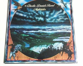 Charlie Daniels band Nightrider vinyl album Epic 34402