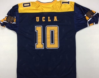 Vintage Colosseum NCAA UCLA Bruins Blue and Gold Stitched Football Jersey xxl, Vintage UCLA Bruins Jersey xxl, ucla Bruins Football Jersey