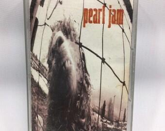 Pearl Jam - Vs. Cassette Tape, Pearl Jam Cassette, Pearl Jam Tape, 90s music, Grunge Cassette Tape, Eddie Vedder, 90s Grunge Rock Cassette