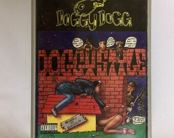 Snoop Doggy Dogg - Doggystyle, Vintage Cassette Tape, Hip Hop Cassette Tape, Rap Cassette, Rap Cassette Tape, 90's Hip Hop, Death Row Record