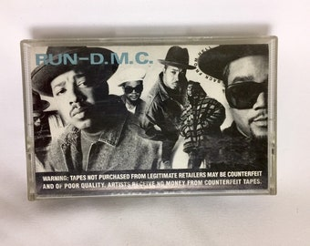 Run D.M.C - Back From Hell, Vintage Cassette Tape, Hip Hop Cassette Tape, Rap Cassette, Rap Cassette Tape, 90's Hip Hop, New Jack Swing Tape