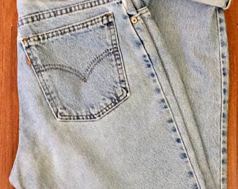 90s Vintage Levis 951 Relaxed Fit Tapered Leg Denim Jeans, Mom Jeans Size 10, Vintage High Waisted Jeans Levi, Mom Jeans Levis, 90s Fashion