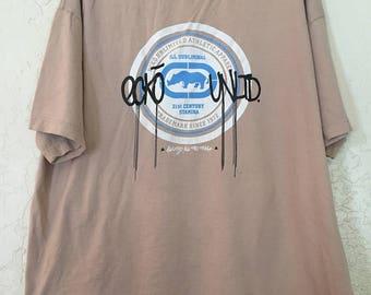 ECKO UNLTD 90s Vintage Tee Shirt Streetwear XXL , Mens Streetwear, 90s Hip Hop Clothing, Vintage Hip Hop, Big Logo, Baggy Oversized