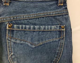 80s Vintage Pentimento Brittania Stonewash Denim Straight Leg High Waisted Mom Jeans 9, 70s Vintage High Waisted Mom Jeans 26