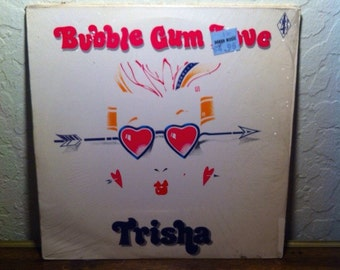 RARE Trisha - Bubblegum Love, Electronic, Hi Nrg, EDM, Italo Disco, Eurobeat, Techno, Dance Pop, Eurodisco, Freestyle, Disco