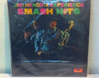 Jimi Hendrix Experience - Smash Hits SEALED Vintage Vinyl Record Album LP 33 RPM, Jimi Hendrix Vinyl, Jimi Hendrix Record, Rock Vinyl Record