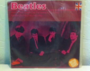 "The Beatles - Aint Nothin Shakin (Like The Leaves on A Tree) & Kansas City/Hey Hey Hey 7"" Vintage Vinyl Record Album LP 45 SEALED UK Import"