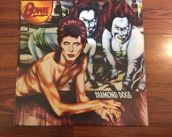 David Bowie - Diamond Dogs, collectors copy,  Vinyl Record, Records, Vinyl Records Sale, Record Albums, Vinyl Lp,Lp Records