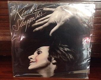 """The Kinks - Sleepwalker 12"""" Vintage Vinyl Record Album LP 33 RPM, Rock Record, Rock Vinyl, Vintage Record, Vintage Albums, Vintage Vinyl"""