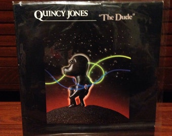 "Quincy Jones - The Dude Vintage 12"" Vinyl Record 33 RPM Album LP, Vinyl Records Sale, Record Albums, 12"" Vinyl, 12"" Record, R&B, Jazz, Pop"
