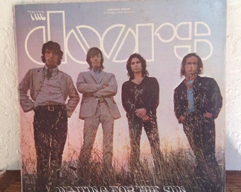 The Doors - Waiting For The Sun Vintage Vinyl Record Album LP, Rock Record, Rock Vinyl Rock Album, The Doors Vinyl, The Doors Records
