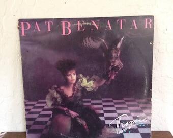 """Pat Benatar - Tropico 12"""" Vintage Vinyl Record Album LP 33 RPM, 80s Vinyl Record, 80's Album LP, Rock Record, 80s Pop Rock, Rock Record"""