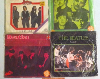 "The Beatles Vinyl Record Lot 45 RPM, 45 Records, 7"" Vinyl, 7"" Records, Vinyl Record, Vinyl Records Sale, The Beatles, Beatles, Record Lot"